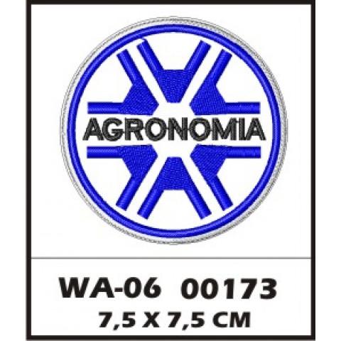 WA06-00173- BORDADO PROFISSOES AGRONOMIA AZUL