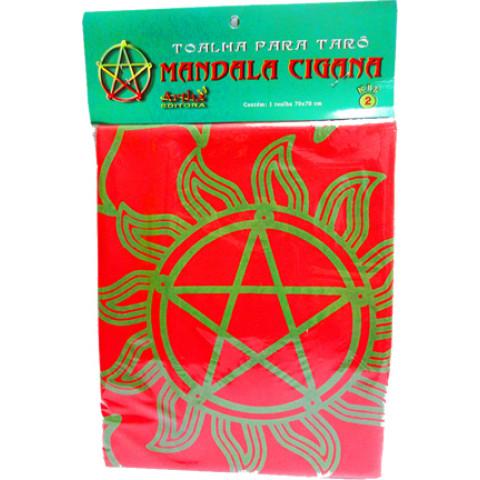 Toalha para Tarot Mandala Cigana