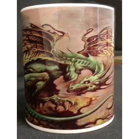 Caneca Grael - Dragão da Terra
