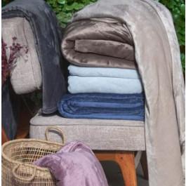 Cobertor Casal Velour Supersoft Marrom