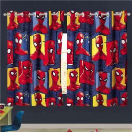 Cortina Infantil Personagens 300x180 Cm Spider Man