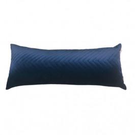 Almofada Cheia 30x70 Cm Azul Marinho