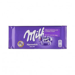 Chocolate Milka Recheio de Leite Alpine 100 G