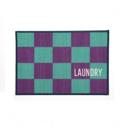 Tapete BBB Laundry 50x70 Cm Azul