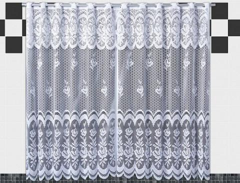 Cortina Karla 120x220 Cm Branco