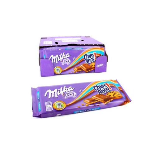 Chocolate Milka Recheio de Chips Ahoy! 100 G