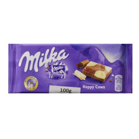 Chocolate Milka Recheado Happy Cows
