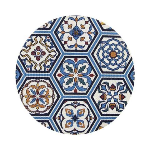 Lugar Americano Design Azulejo 38 Cm Azul