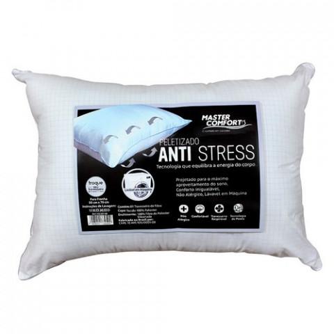 Travesseiro Anti-Stress Peletizado Master Confort