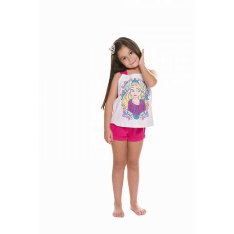 Pijama Infantil Regata Princesas