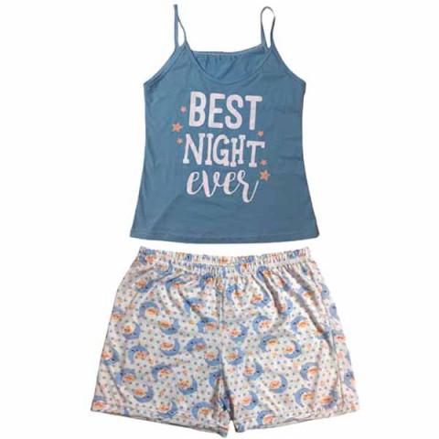Pijama Feminino Adulto Short Doll M