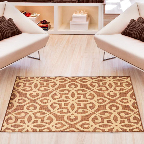 Tapete Eco Nature Active 133x190 Cm Caramelo