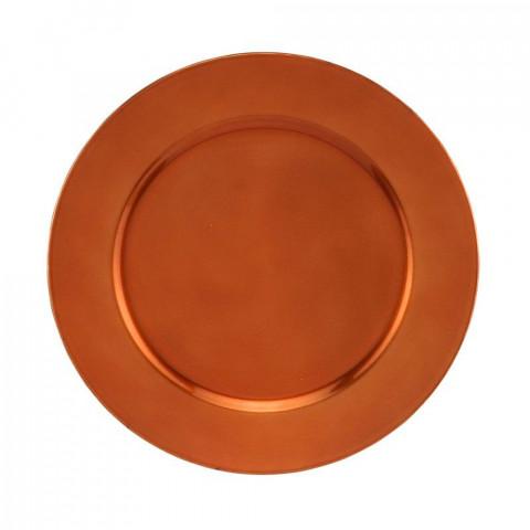Sousplat Opala 33 Cm Bronze