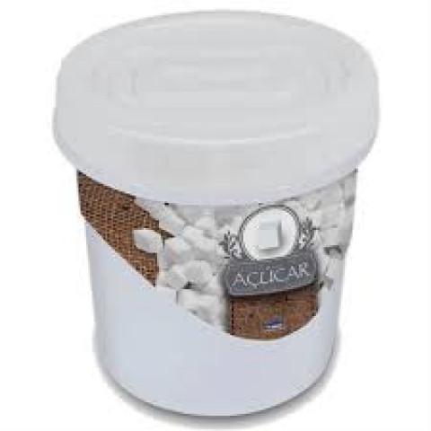 Pote porta mantimentos com tampa Rosca Açúcar 1,8 Lt