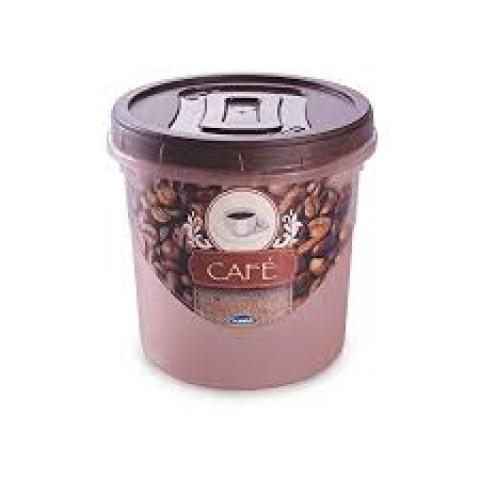 Pote porta mantimentos com tampa Rosca Café 1,8 Lt