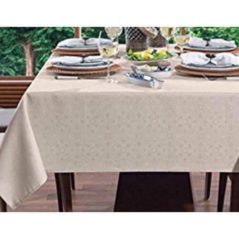 Toalha de Mesa Faenza 160x270 Cm Branco
