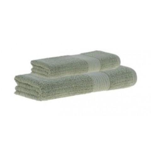 Toalha de Banho Penteado Canelado 70x140 Cm Verde Claro
