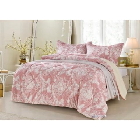 Porta Travesseiro Micromatelassado 250 Fios Supreme Florença Rose