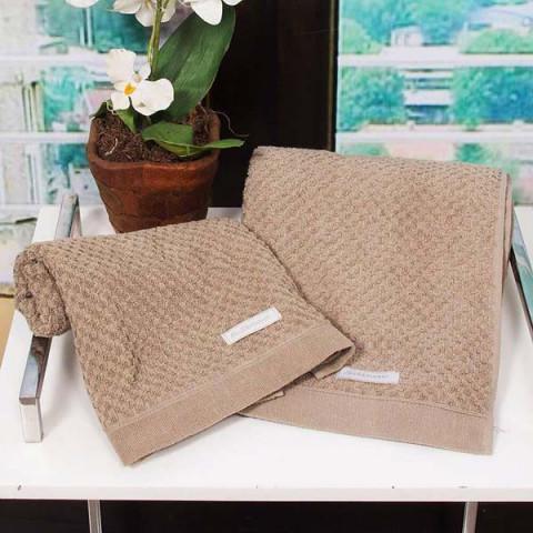Toalha de Rosto Yumi 48x80 Cm Khaki