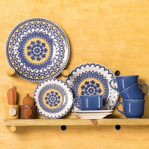 Aparelho De Jantar De Cerâmica Com 20 Peças