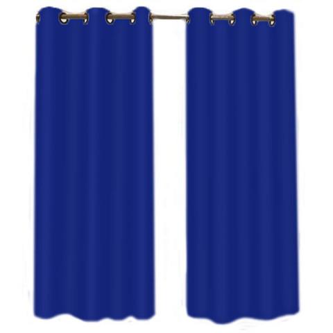 Cortina Grécia 200X180 cm Azul
