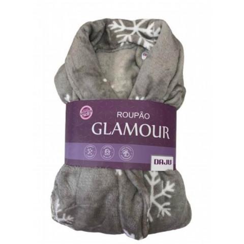 Roupão Glamour Daju Floco de Neve