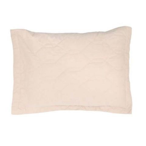 Porta Travesseiro Liss 180 Fios Liso 50x70 Cm Bege