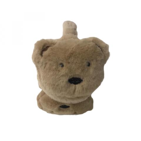 Protetor De Orelha Juvenil/Adulto Urso Marrom