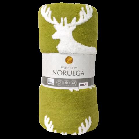 Edredom Queen Daju Noruega Verde Com Rena