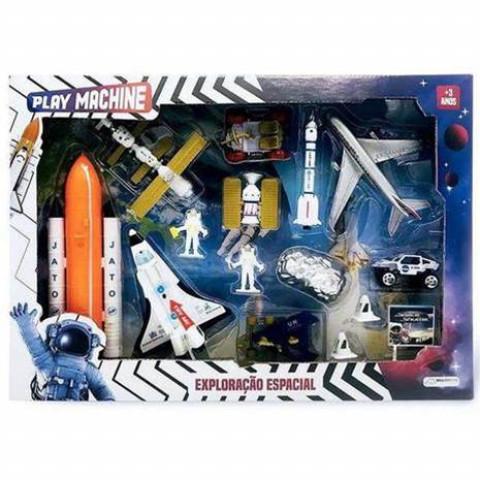 Brinquedo Exploração Espacial Ref Br1037 Estamp.