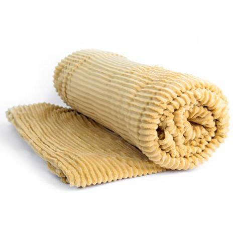 Cobertor Casal Soft Design Relevo Amarelo