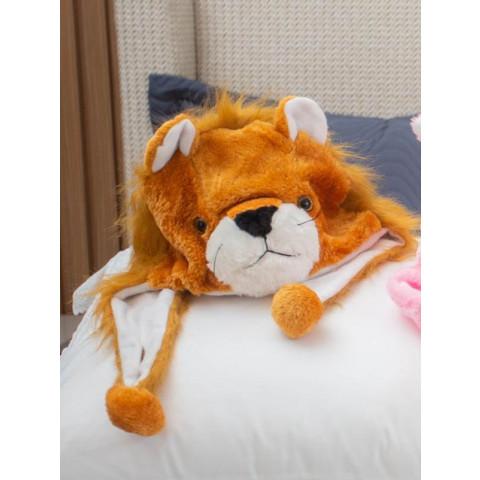Touca Infantil Mascote Leão