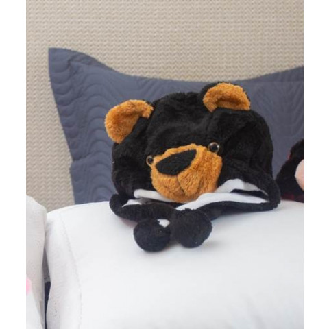 Touca Infantil Mascote Urso