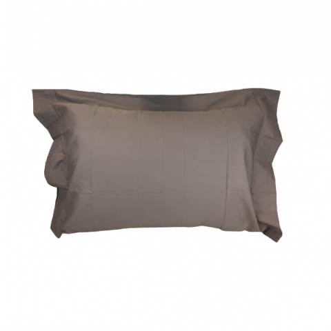 Fronha Home Collection 180 Fios 50x70 cm Marrom Shitake