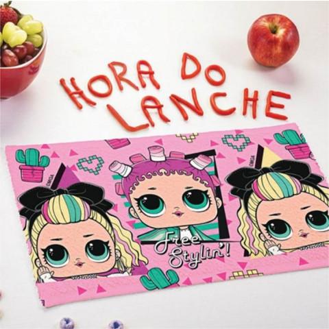 Toalha Lepper Lancheira Lol
