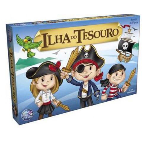 Brinquedos Jogo Ilha Do Tesouro