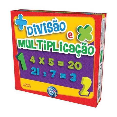 Brinquedos Jogo Divisão E Multiplicação.