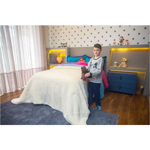 Pijama Infantil Flanelado Dinossauro