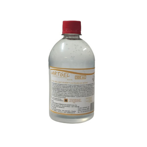 Álcool Gel Higienizador 70% 500 Ml