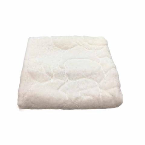 Toalha de Rosto Ambiance 50x70 Cm White/Pink