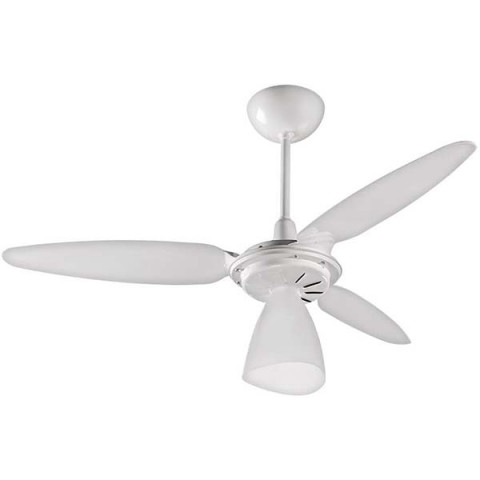 Ventilador de Teto Wind Light 3 Pas Premium Branco