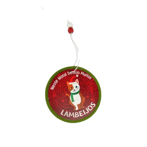 Enfeite De Pendurar Natal Animais 7X10 Cm