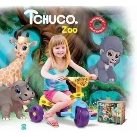 Triciclo infantil Tchuco Zoo
