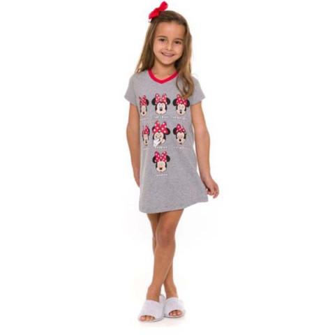 Camisola Infantil Manga Curta Minnie 8 Anos