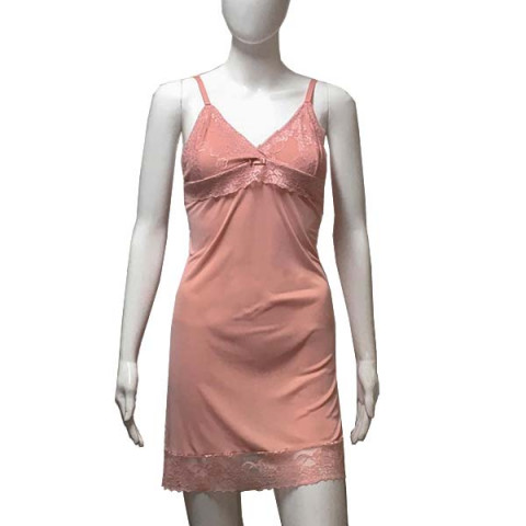 Camisola Renda Liganete P Romance Rosa