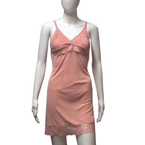 Camisola Renda Liganete G Romance Rosa