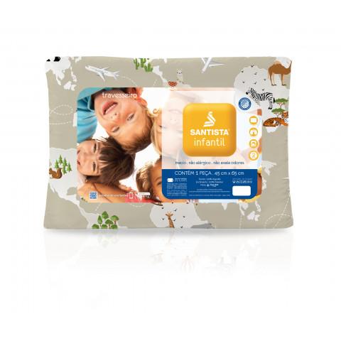 Travesseiro Infantil Santista 45x65 Cm
