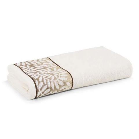 Toalha de Banho Marsele 70x135 Cm Ivory Marrom