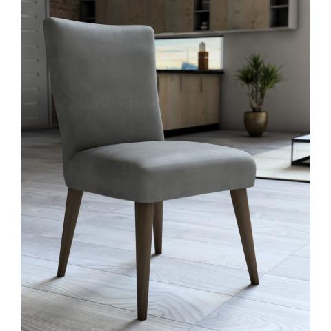 Capa para Cadeira Helanca 10,5x46x58 Cm Cinza