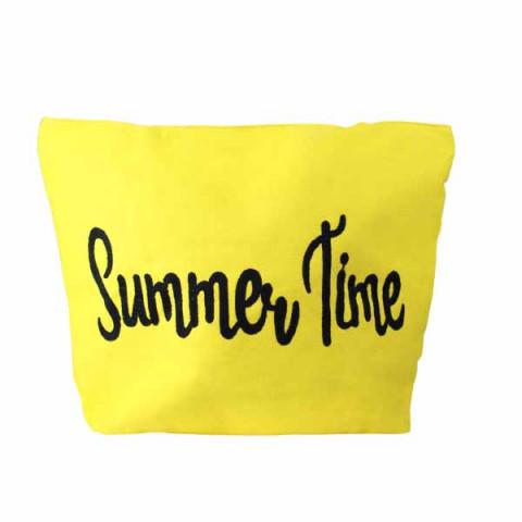 Bolsa de Praia 52x36 Cm Amarelo